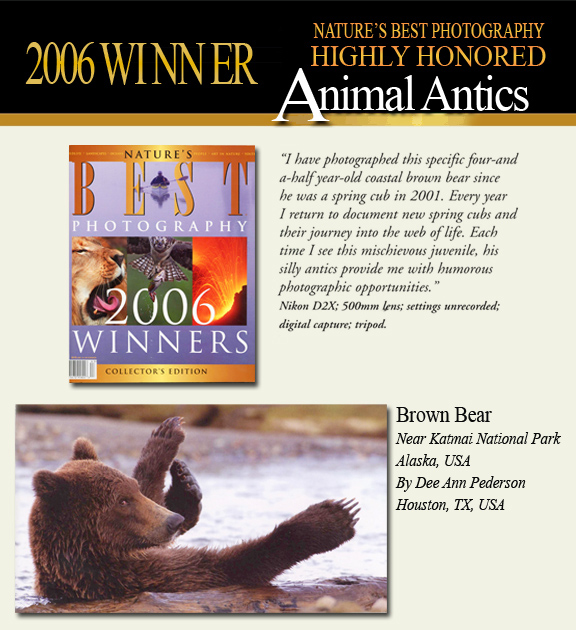 2006 Winner Smithsonian Animal Antics